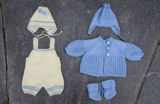 Knitting Patterns Dolls Clothes | Patterns Gallery