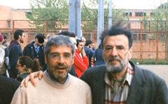 Totò Cuffaro e Achille Della Ragione a Rebibbia (2012)