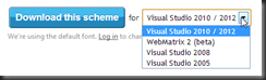 Create and share Visual Studio color schemes