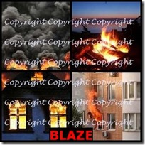 BLAZE- 4 Pics 1 Word Answers 3 Letters