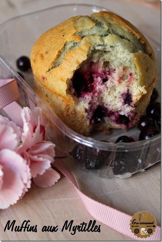 Muffins aux Myrtilles logo 2