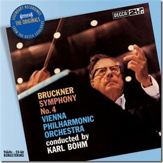 Bruckner 4 Bohm Viena Decca Originals