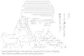 [AA]Minamikujyou Ayame (Silver Spoon)