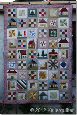 Quilt021-Häuser