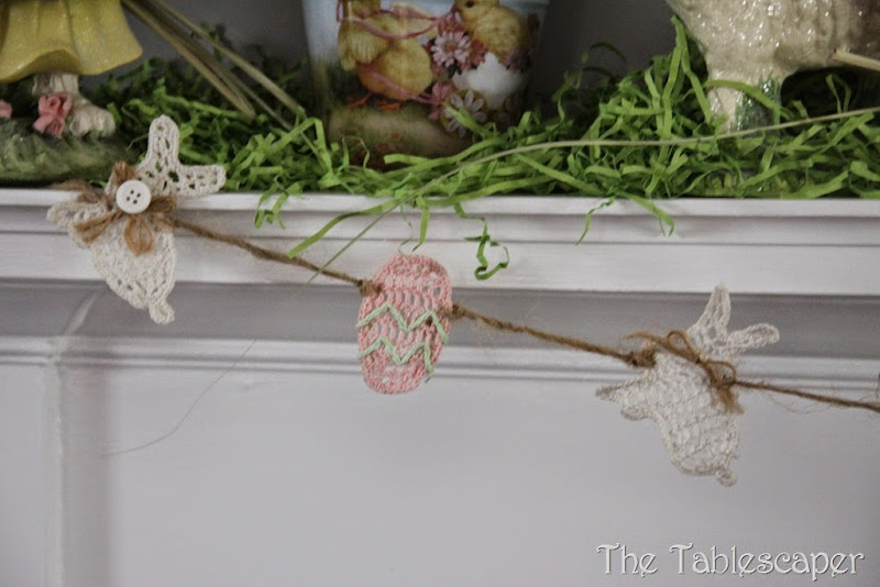 Easter Mantel - The Tablescaper08
