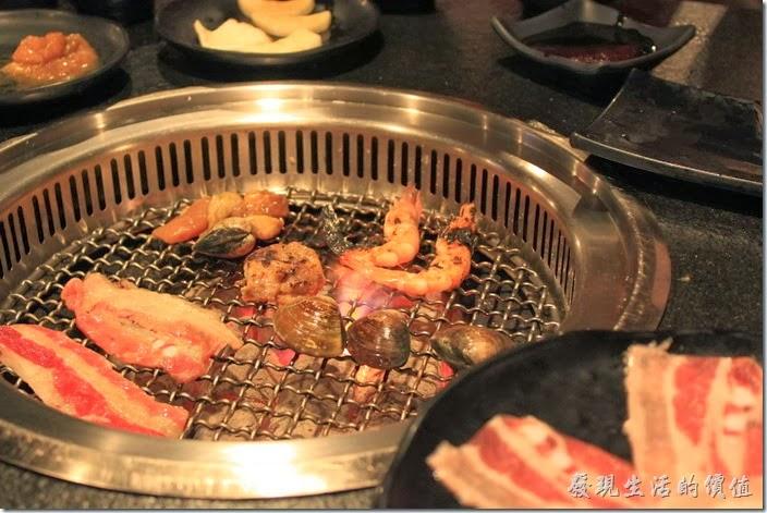台南-逐鹿焊火燒肉。那就開始烤肉吧!