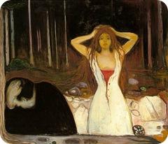 Cenizas, de Munch