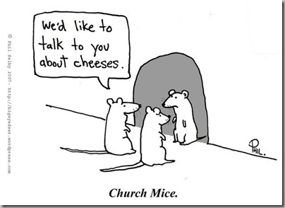 Church mice