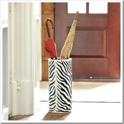 Zebra Umbrella Stand