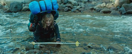 Reese Witherspoon hikes alone in Wild