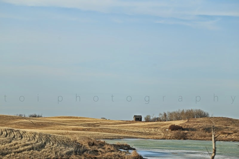 saskatchewan landscape april