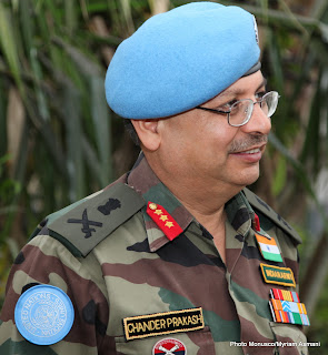 Général Chander Prakash, commandant des forces de la Monusco Photo Monusco/Myriam Asmani