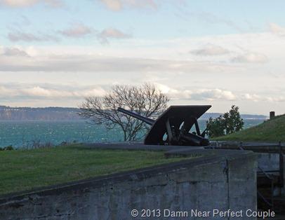 Fort Flagler Gun