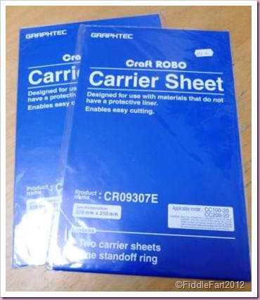 craft Robo Carrier Sheet