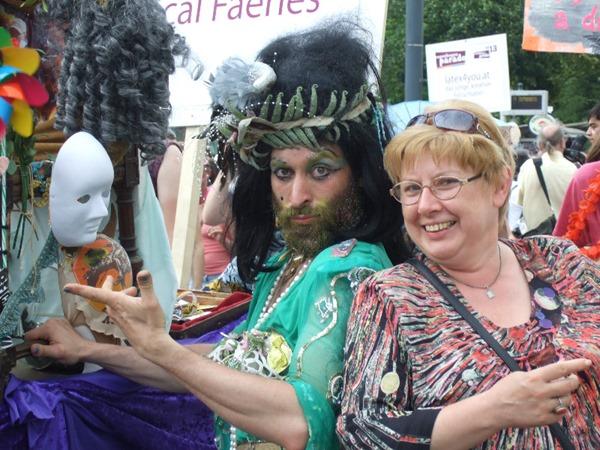На гей-параде в Вене