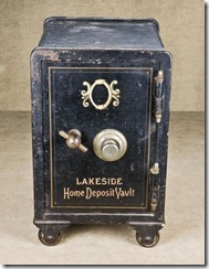 old iron safe