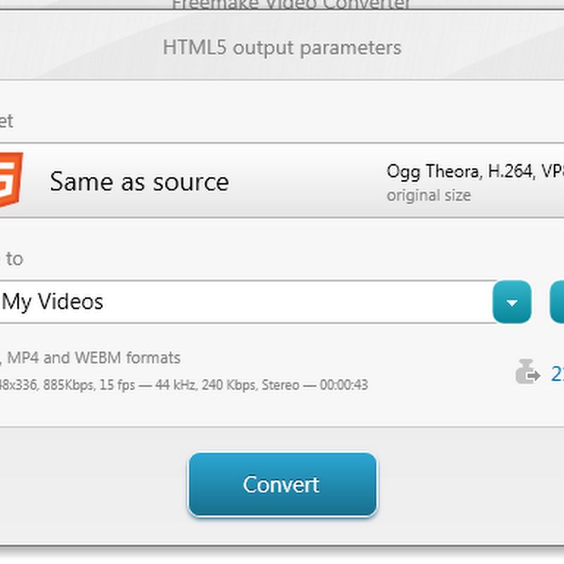 Freemake Video Converter 3.0 Now Supports HTML5 Video Conversion