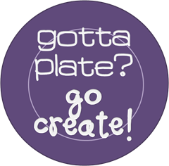 paper plate graphic