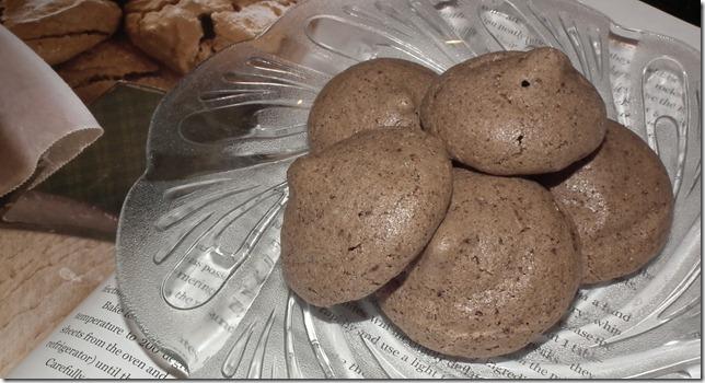 TWD--Cocoa Almond Meringues 8-1-11
