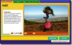 National Geographic Kids Website - Countries