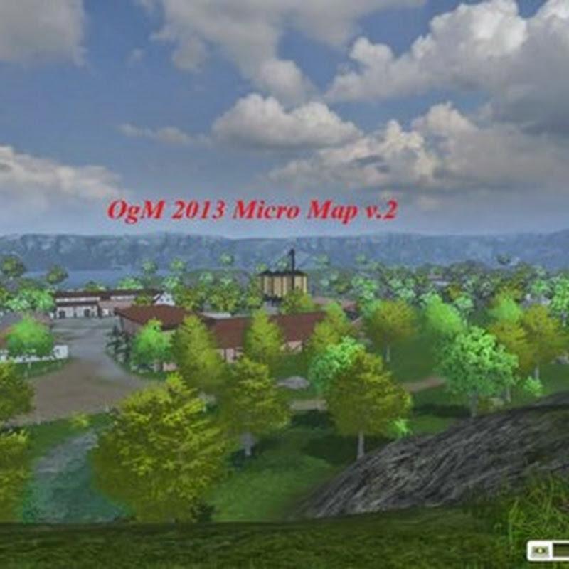 Farming simulator 2013 - OGM 2013 Micromap v 3.3 update