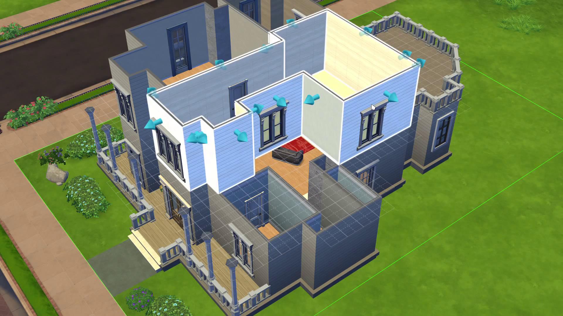 Как сделать потолки в симс 3