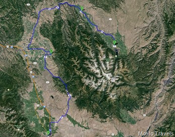 Baker to Wallowa Lake