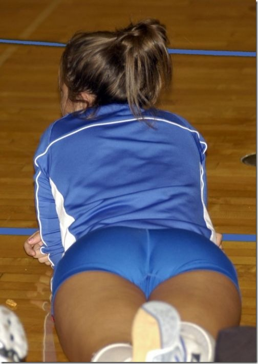 sexy girls volleyball shorts 12