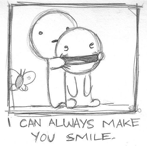 always-make-you-smile-funny-draws-drawing-smile-draw-Illustration-fun ...