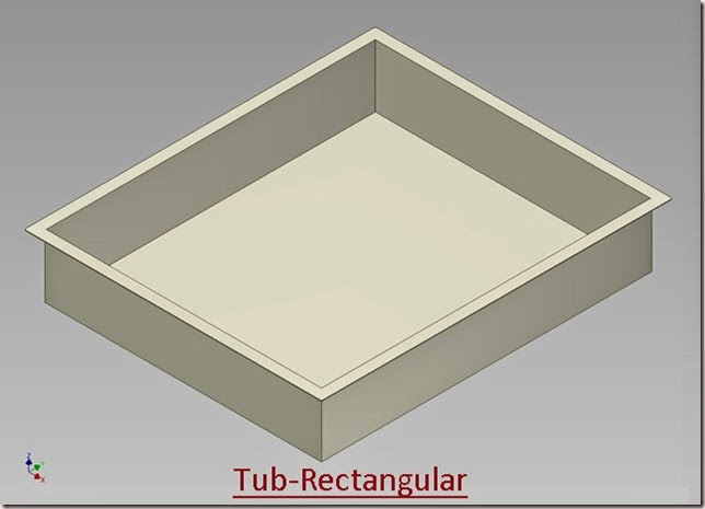 Tub-Rectangular