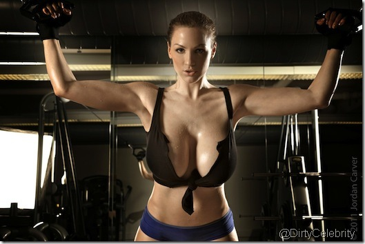 sweaty-Jordan-Carver-Gym-11