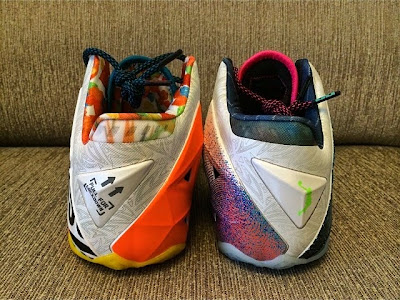 nike lebron 11 gr what the lebron 5 02 What the LeBron Nike LeBron XI Postponed. New Pics with 3M.