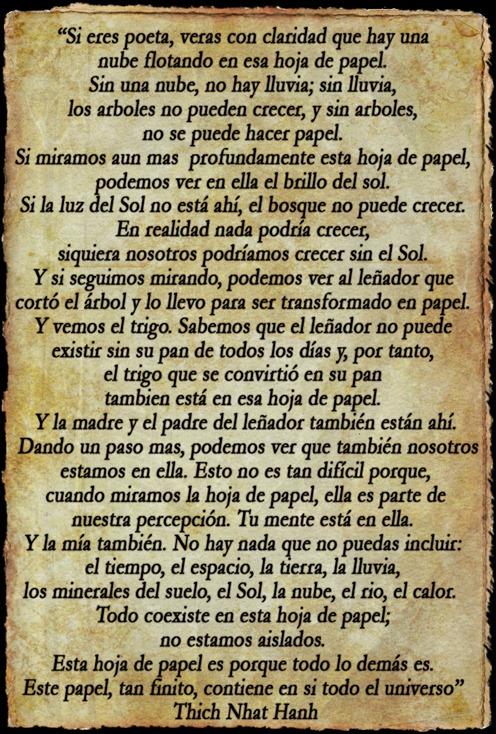 poema en papel