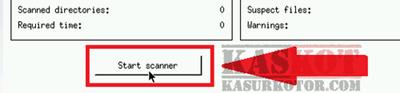 start scanner