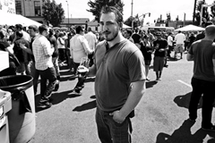 image of The New School Beer Blog's founder Ezra courtesy of Portlandbeer.org's Flickr page