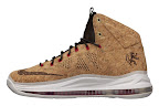 nike lebron 10 gr cork championship 5 04 @KingJames Wears NSWs Nike LeBron X Cork Off the Court