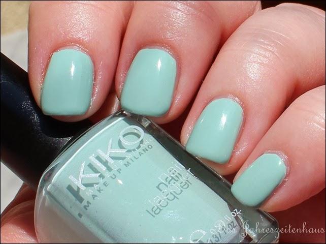 Mint KIKO 345 Jade Green 5