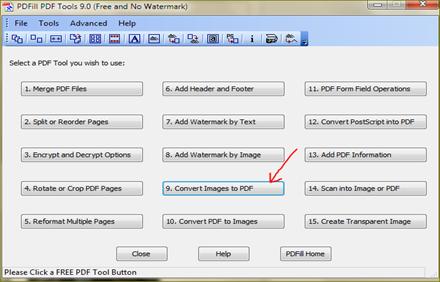 pdfill pdf tool แปลงไฟล์รูปภาพเป็น pdf