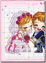 boda punto de cruz (4)