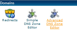 HostGator DNS ZONE
