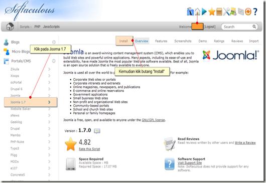 Portal/CMS - Joomla! 1.7