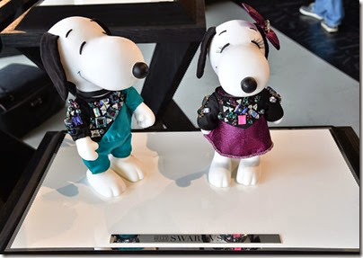 Peanuts X Metlife - Snoopy and Belle in Fashion Exhibition Presentation (Source - Slaven Vlasic - Getty Images North America) 32