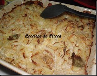 Batatas dauphinoise rápidas