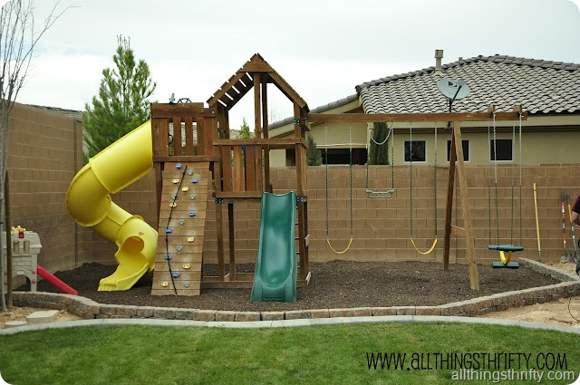 outdoor swing set 1