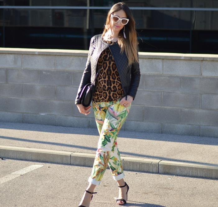 Mix and match, mix and match outfit, Colcci, Colcci Official, Collci pants, leopard print, Zara, Zara sunglasses, Zara Bag, Primark, Primark sandals