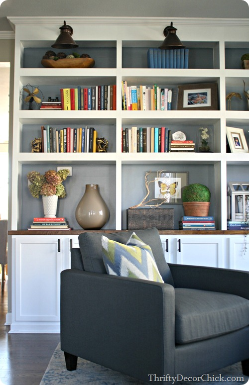 Dining Room Turned Library Finally From Thrifty Decor Chick