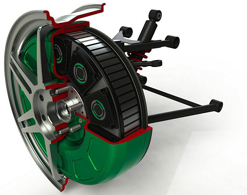 Protean promotes wheel motors for 2012 showtimes clean for In wheel electric motors for cars