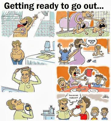 Bila bersiap hendak keluar