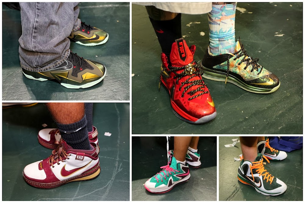 Sneaker Con Miami October 2013    LeBrons On-Feet Recap  f9096c088