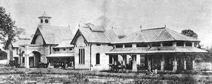 Kuala Lumpur Railway Station old